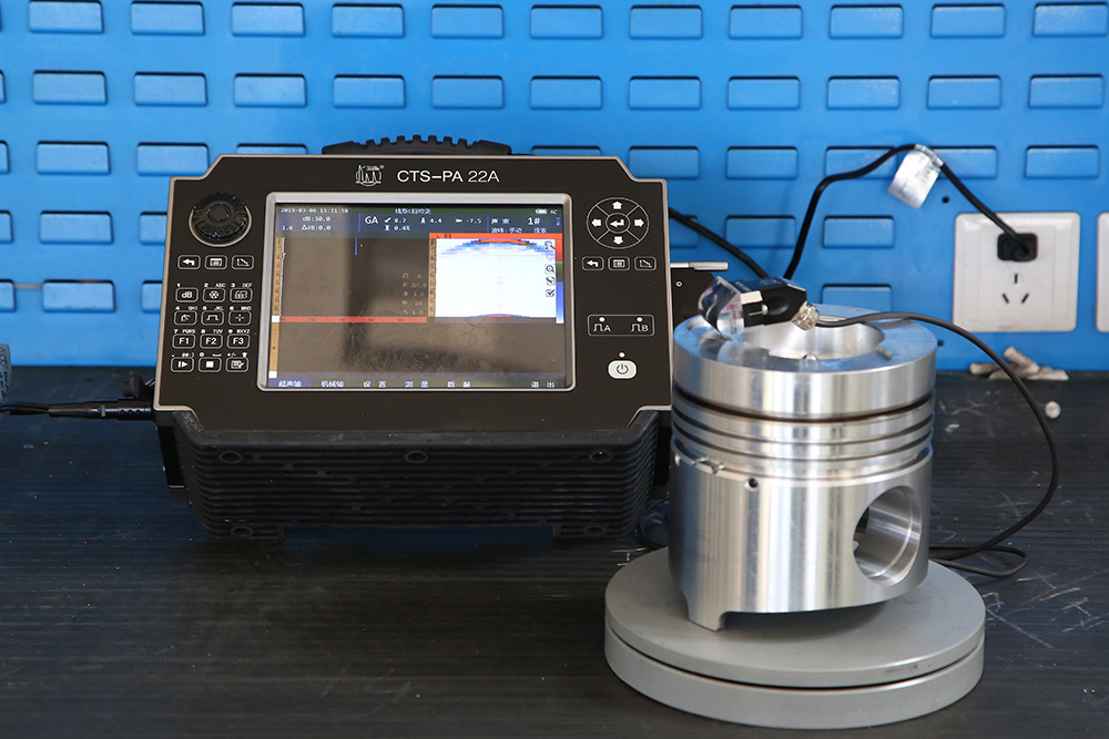 Phased array ultrasonic detector